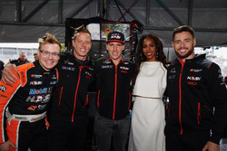 Former Destiny's Child singer Kelly Rowland meets with Walkinshaw Racing