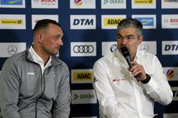 Управляющий директор ITR Ахим Кострон и глава DTM Audi Sport Дитер Гасс