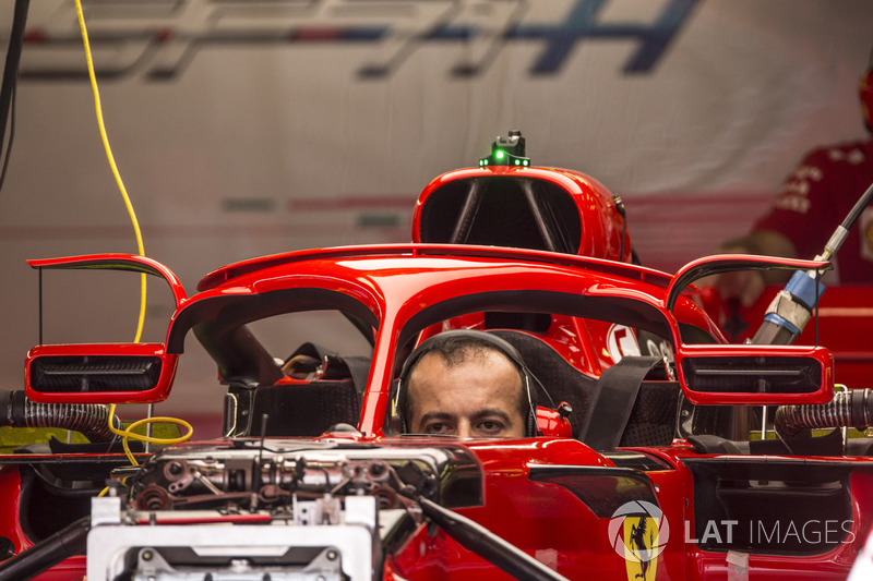 Ferrari SF71H halo and mirrors