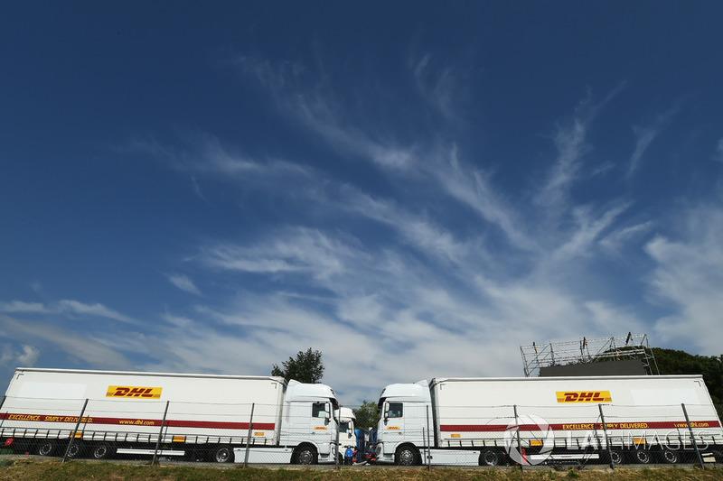 Camiones DHL