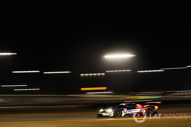 22.- #66 Chip Ganassi Racing Ford GT, GTLM: Dirk Müller, Joey Hand, Sébastien Bourdais