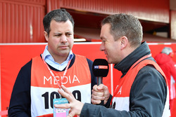 Ted Kravitz, Sky TV and Craig Slater, Sky TV