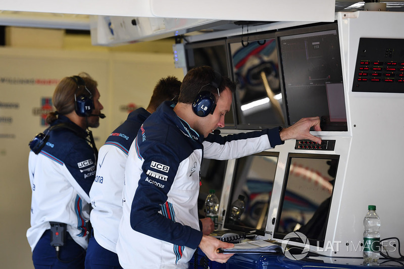 Williams Engineers in the garage