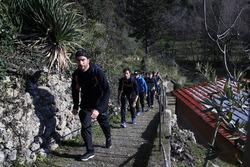 Philipp Eng, Bruno Spengler, Augusto Farfus and Marco Wittmann, Hiking