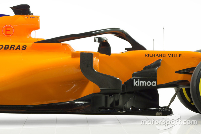 McLaren MCL33, dettaglio dell'halo