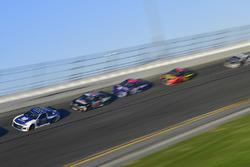 Alex Bowman, Hendrick Motorsports Chevrolet Camaro, Matt DiBenedetto, GO FAS Racing Ford Fusion