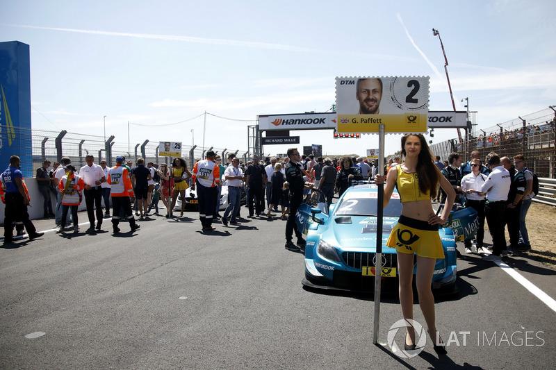 Chica de la parrilla de Gary Paffett, Mercedes-AMG Team HWA