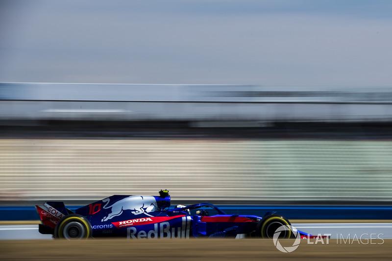 16. Pierre Gasly, Toro Rosso STR13