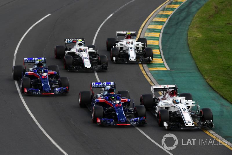 15e : Brendon Hartley (Toro Rosso)