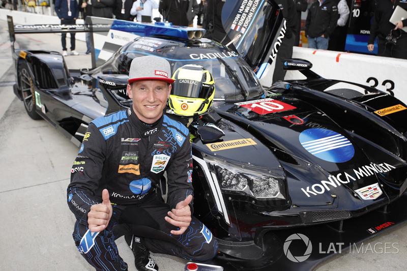 Pole Position Renger van der Zande, Wayne Taylor Racing