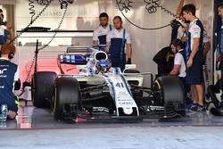 Sergey Sirotkin, Williams FW40