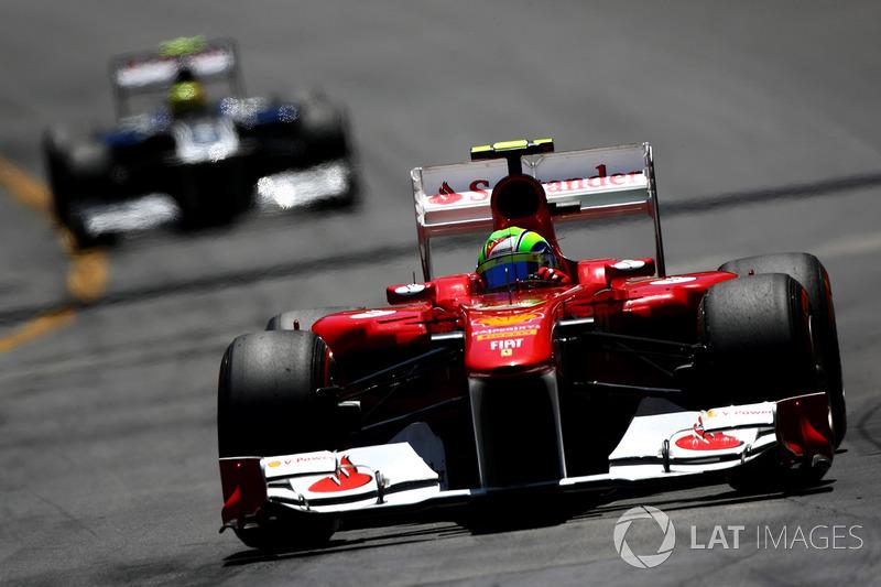 2011: Ferrari 150° Italia - 118 puan, şampiyonayı altıncı bitirdi