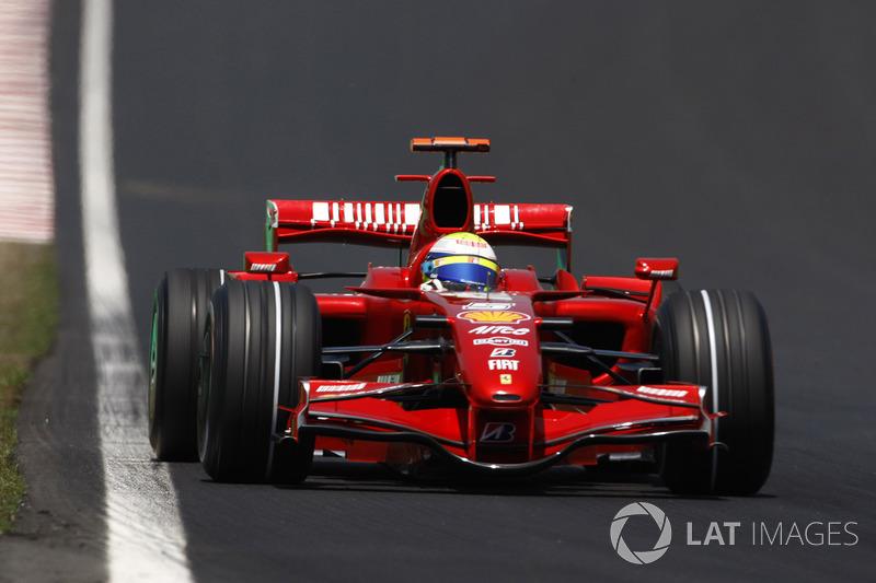 """2007: سيارة فيراري """"اف2007"""" – 94 نقطة، المركز الرابع في البطولة"""