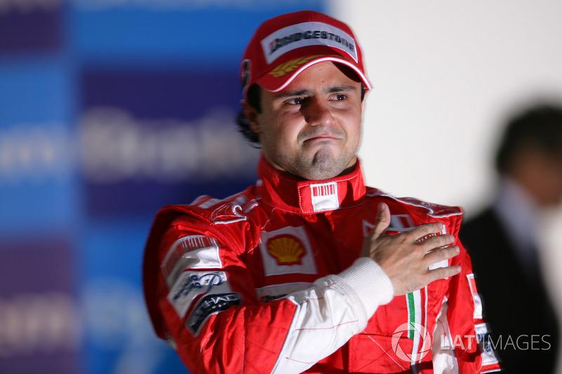 Фелипе Масса, Ferrari (97 очков, шесть побед + четыре подиума)