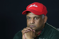 Tony Fernandes, Caterham Team Owner in the Press Conference