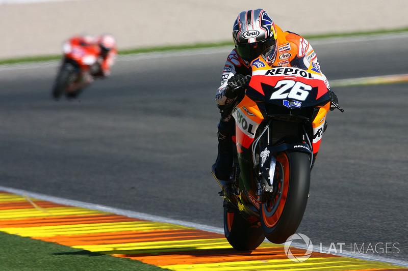 2007: Гран Прі Валенсії, перше віце-чемпіонство у MotoGP