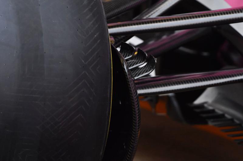 La Force India VJM11