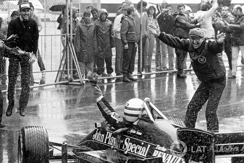 Переможець гонки Айртон Сенна, Lotus 97T