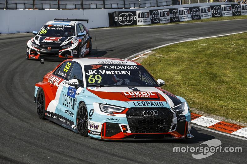 Жан-Карл Вернэ, Audi Sport Leopard Lukoil Team Audi RS 3 LMS