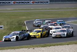 Philipp Eng, BMW Team RBM, BMW M4 DTM, Timo Glock, BMW Team RMG, BMW M4 DTM, Pascal Wehrlein, Mercedes-AMG Team HWA