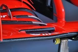 Ferrari SF-71H ön kanat detay