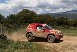 Marino Gambazza Chinti, Sandra Castellani, Suzuki New Gran Vitara, Cram Racing Team
