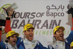 Primo posto LMP2 #31 Vaillante Rebellion ORECA 07-Gibson: Julien Canal, Nicolas Prost, Bruno Senna