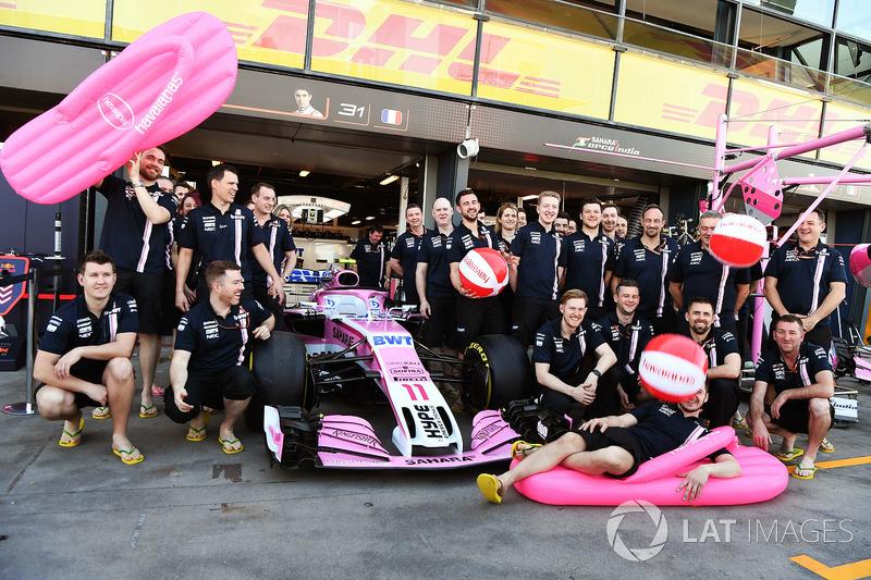 Sandal Havaianas sponsori Force India
