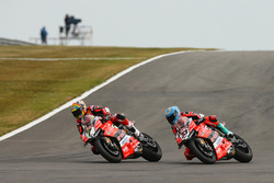 Chaz Davies, Aruba.it Racing-Ducati SBK Team, Marco Melandri, Aruba.it Racing-Ducati SBK Team