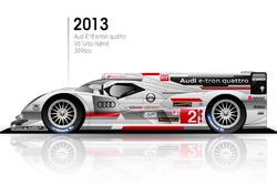 2013 Audi R-18 e-tron quattro