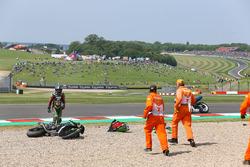 Hikari Okubo, Kawasaki Puccetti Racing crash