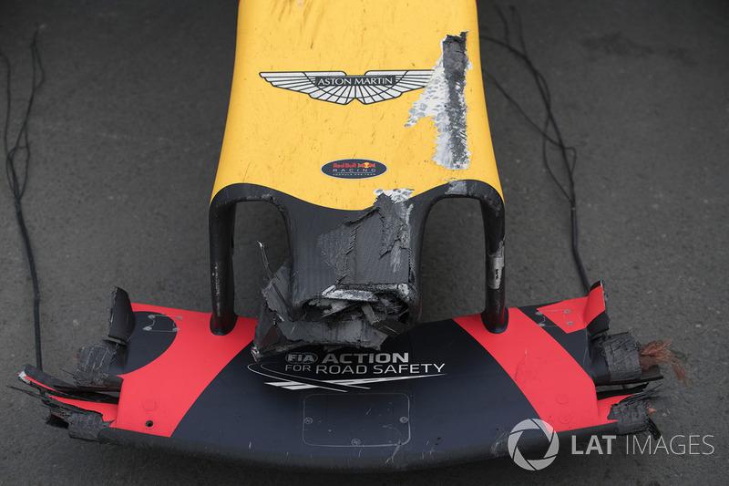 حادث سيارة ماكس فيرشتابن، ريد بُل ريسينغ