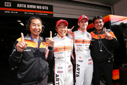 GT300 pole: #55 Autobacs Racing Team Aguri BMW M6 GT3: Shinichi Takagi, Sean Walkinshaw