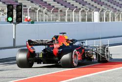 Max Verstappen, Red Bull Racing RB14 with aero sensor