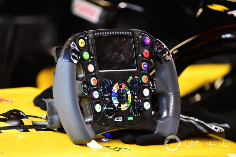 Руль Renault Sport F1 Team RS18