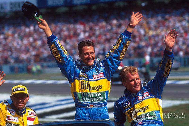 1995 – Джонні Херберт, Benetton