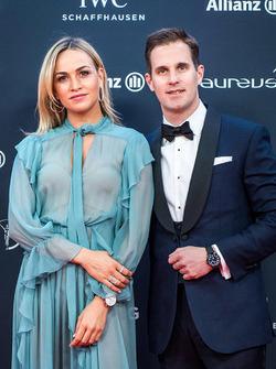 Carmen Jorda y Christoph Grainger-Herr, CEO de IWC Schaffhausen