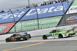 Martin Truex Jr., Furniture Row Racing Toyota, Jeffrey Earnhardt, Circle Sport – The Motorsports Group Chevrolet