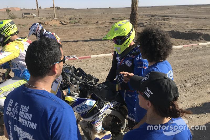 #127 y #128 Julio y Julián Merino, Merino Team