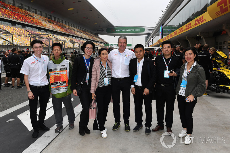 Andrew Denford, F1 in Schools and Giorgio group