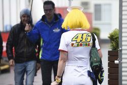 Une fan de Valentino Rossi