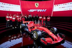 Sebastian Vettel, Ferrari, Kimi Raikkonen, Ferrari con fans