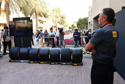 Mario Isola, directeur sportif Pirelli, au lancement Pirelli 2018