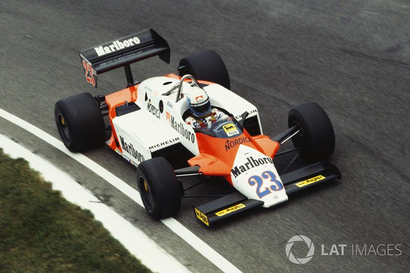1983: Mauro Baldi, Alfa Romeo 183T