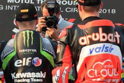 Jonathan Rea, Kawasaki Racing, Chaz Davies, Aruba.it Racing-Ducati SBK Team