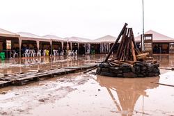 Затопленный бивуак в Оруро