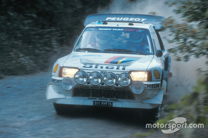 Andrea Zanussi, Paolo Amati, Peugeot 205 Turbo 16