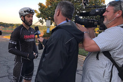 Jimmie Johnson, Hendrick Motorsports before a 69-mile bike ride to remember Nicky Hayden