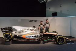 Серхіо Перес, Естебан Окон, Sahara Force India F1 Team, Sahara Force India F1 VJM10