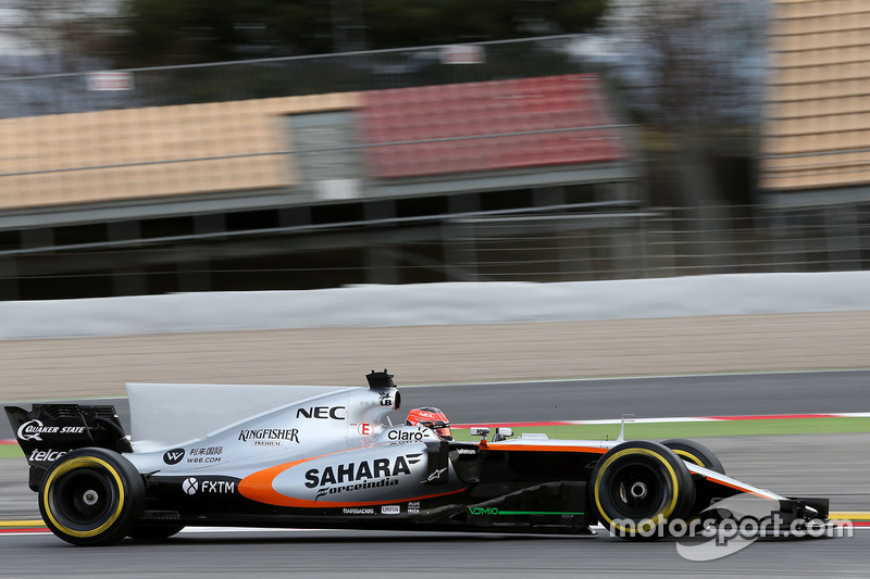 Esteban Ocon, Sahara Force India F1 VJM10